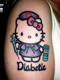Le diabète et le tattoo