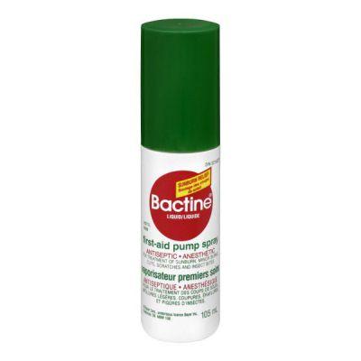 Bactine vaporisateur premiers soins 105ml