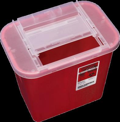 Collecteur d'aiguilles (contenant de biohazard) 7.6L