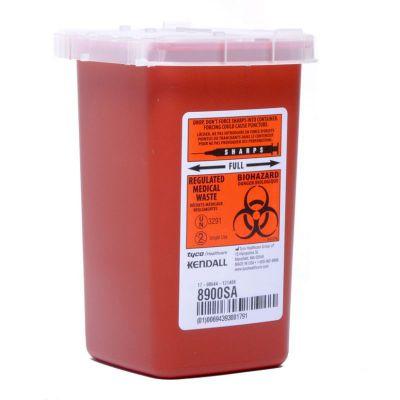 Collecteur d'aiguilles (contenant de biohazard) 1.9L