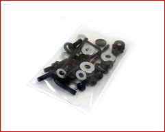 Machine screws washers and bits bag
