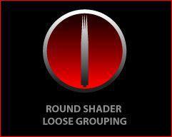 ROUND SHADER NEEDLES (50/BOX) - 15RS