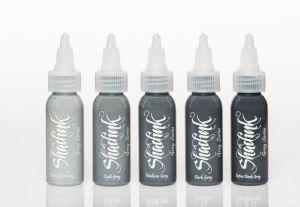 Shadink Grey Séries Set 5 bouteilles